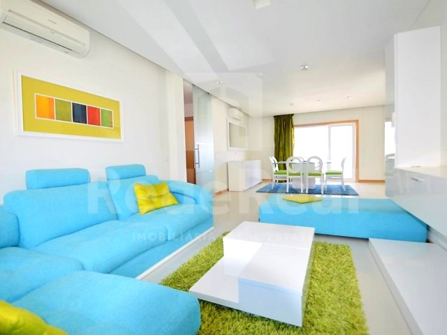 Living room-Gardem Hill-model apartment Albufeira