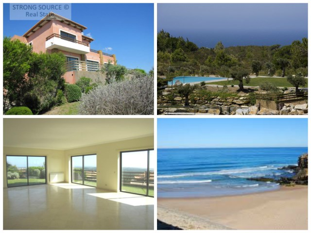 Fantastic villa with panoramic sea views