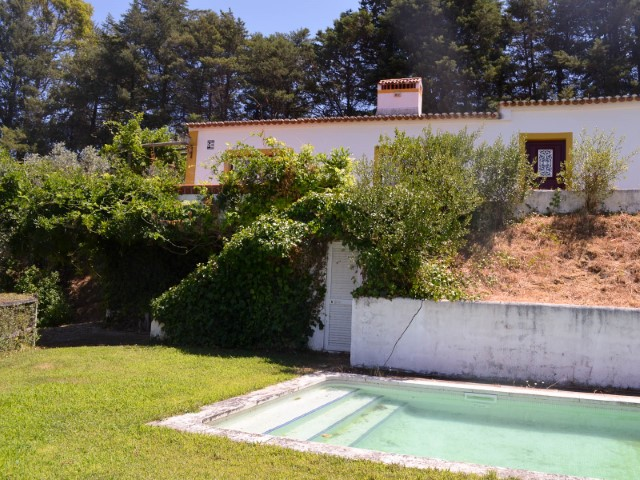 House 4 bedrooms with swimming pool and Land near Santarem less than 1 hour from Lisbon and the beach, for sale