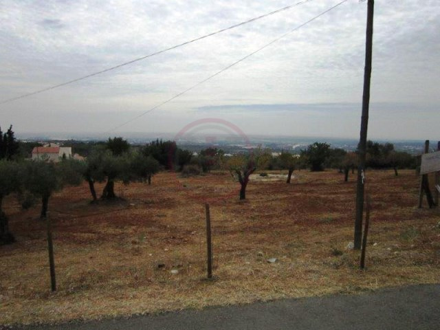 Plot of land for construction with sea view |