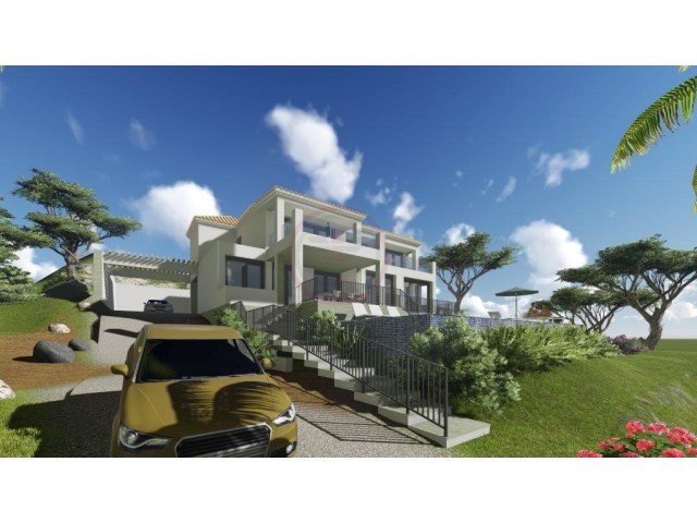 Villa with 4 bedrooms under construction near Vilamoura with views | 4 Bedrooms | 5WC