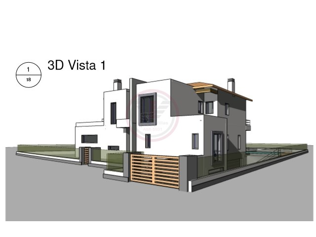 Plot in Vlamoura, with project approved for luxury villa |