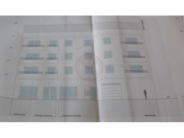 Building land with project for building with 9 apartments |