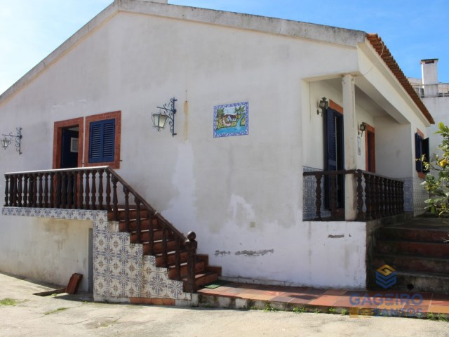 Side facade of the house