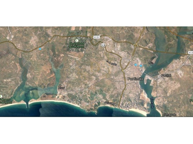 Building lot On housing-Portimao-resumption of Bank  |