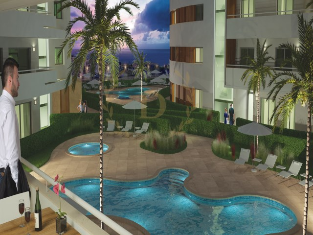 Excellent luxury apartments with sea view in gated community | 1 Bedroom + 1 Interior Bedroom