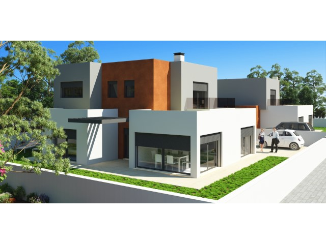 Detached house 3 bedrooms, contemporary architecture, quality construction, good areas and in the Centre of Cadaval.