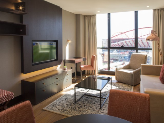 Executive Suite no Benfica Stadium com rendimento garantido | T0+1 | 1WC