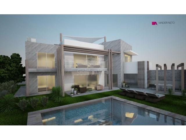 Moderne zeitgenössische Villa im Bau im Vila Sol - Golden Visa ...