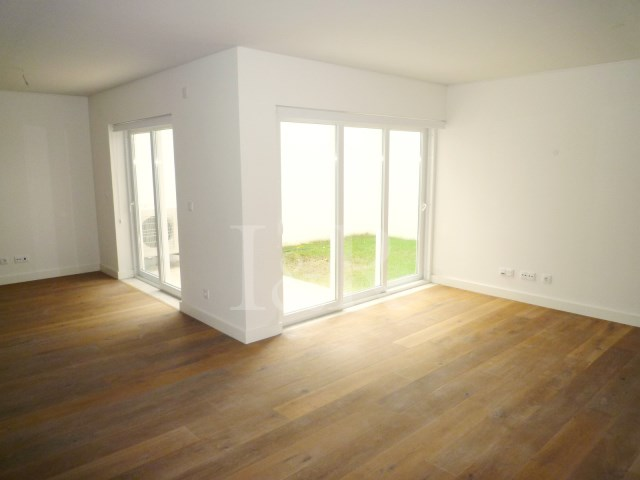 living room and patio 2 bedroom duplex apartment near Avenida da Liberdade, Lisbon