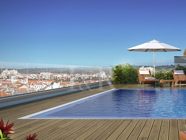 LUXURY 2 BEDROOM APARTMENT WITH BALCONY AND POOL NEAR THE FRENCH SCHOOL, LISBON | 2 Bedrooms | 2WC
