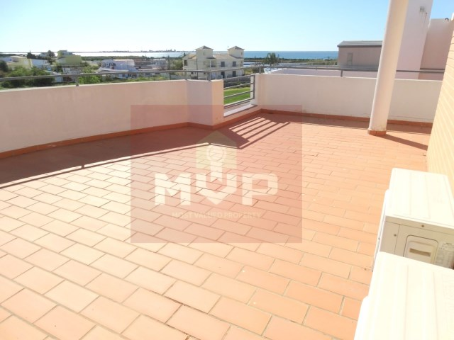 Apartment with sea view in Olhao-terrace with sea view
