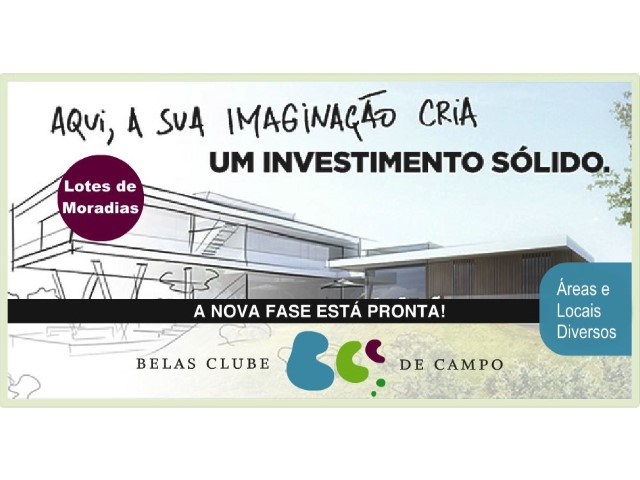Belas Clube de Campo - New Phase - Plot 109