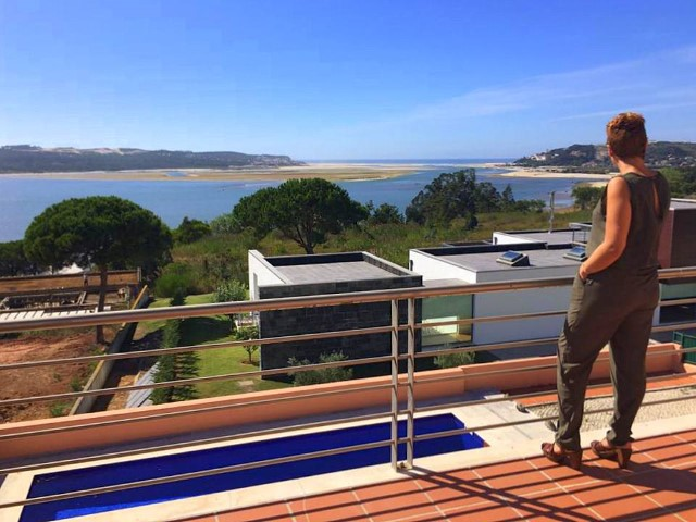 Villa in Foz do Arelho - ocean and lagoon viwes