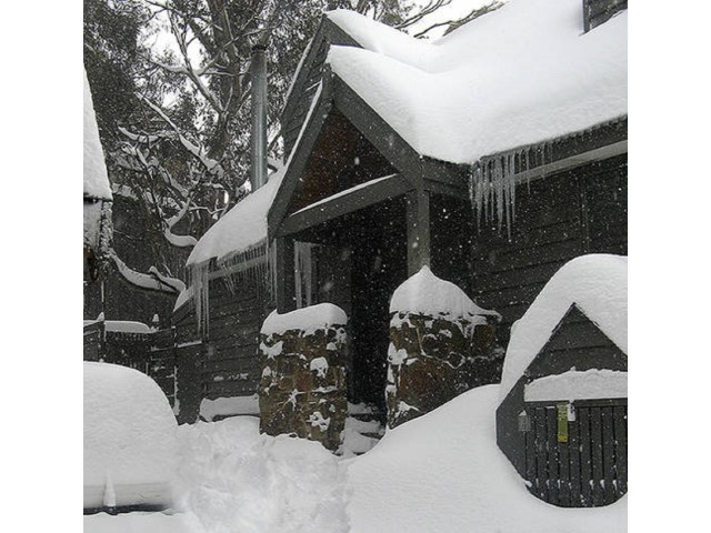 Whistler Lodge during the winter