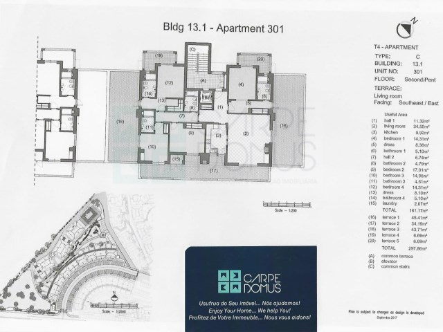 Scan Plan 4 Bed Penthouse € 400 000