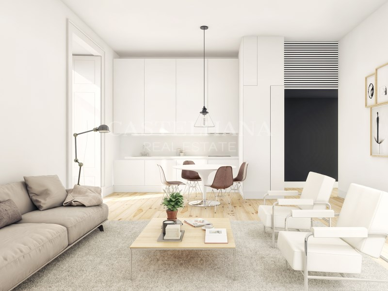 Arco Augusta, 2-Bedroom Apartment, Living Room