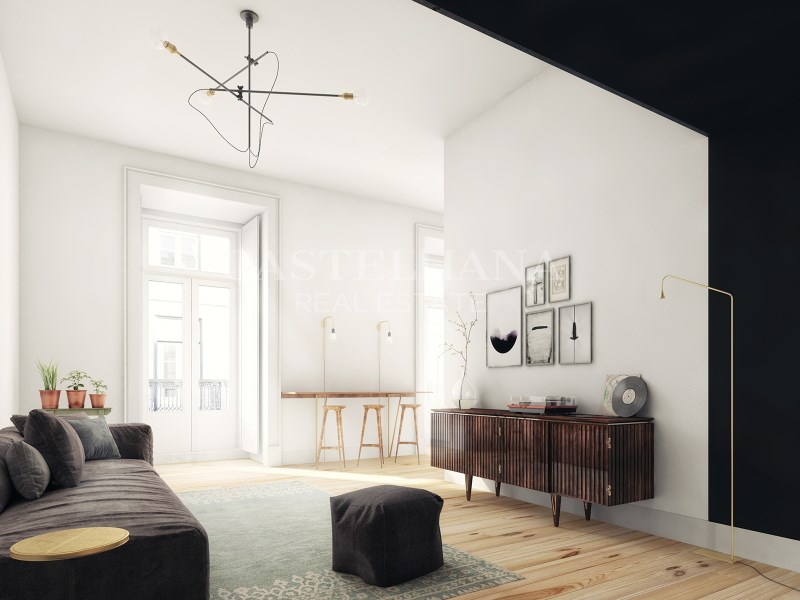 Arco Augusta, 1-Bedroom Apartment, Living Room