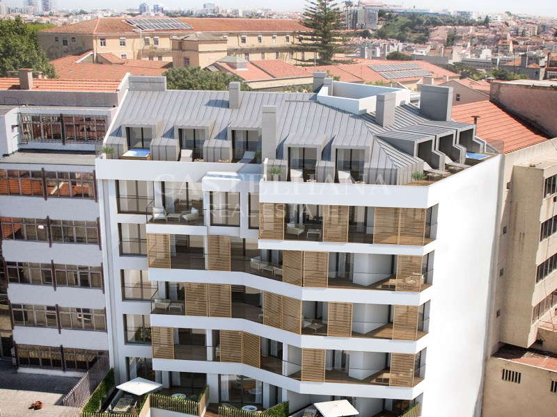 Lifestyle Capuchos, 1-Bedroom to 3-Bedroom Duplex, Av. da Liberdade