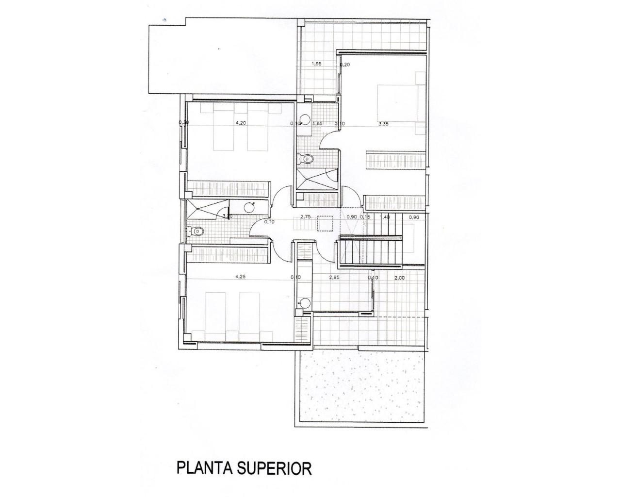 V2181(2) distribución planta superior