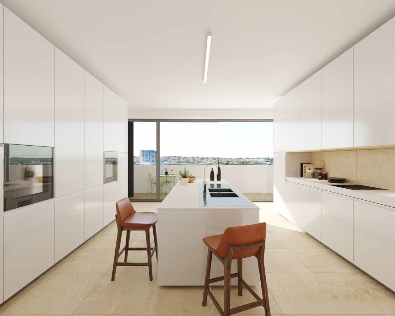 Kitchen - option beach