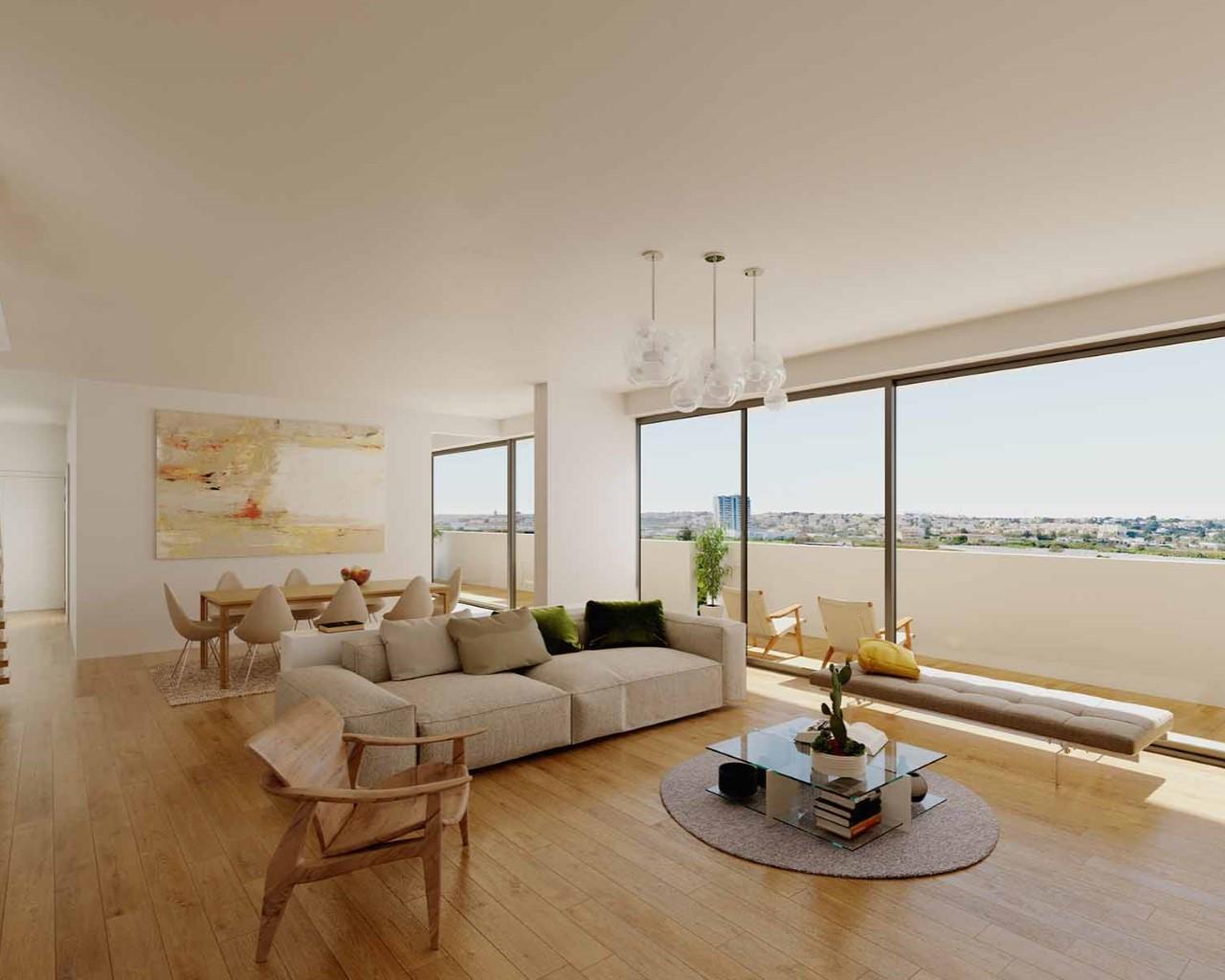Living room - option oak