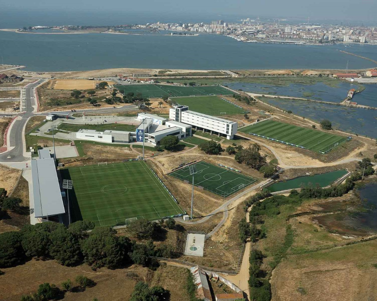 Seixal - Benfica's trainning centre