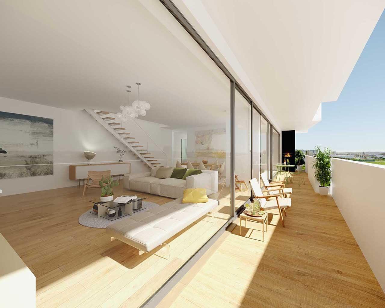 Lux Garden-cobertura varanda