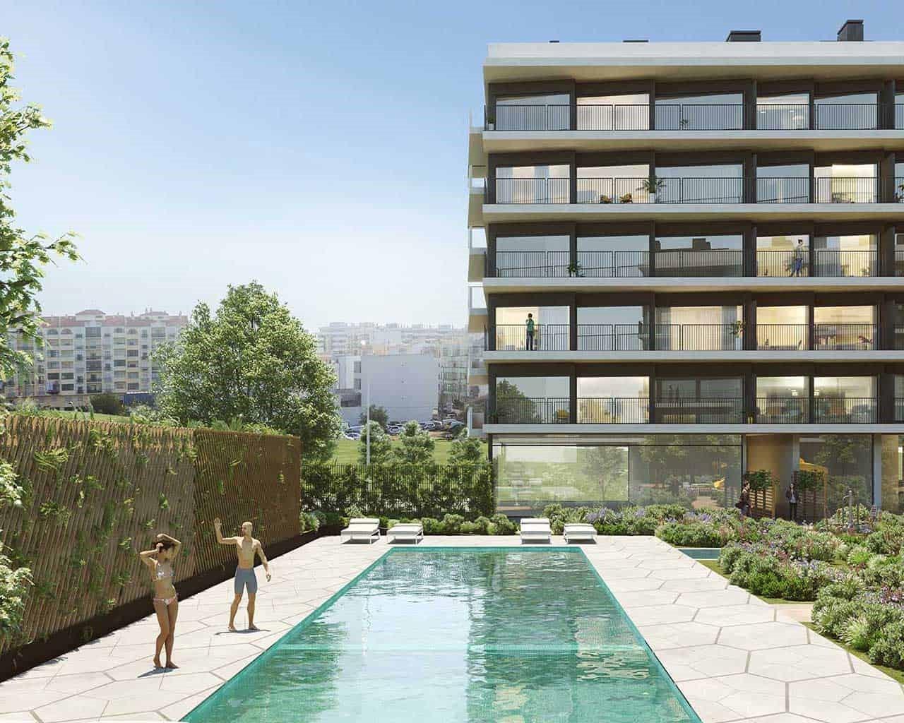 Lux Garden-piscina