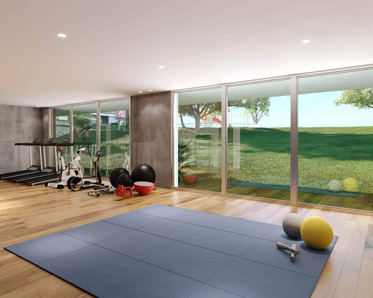 Tagus Bay-gym
