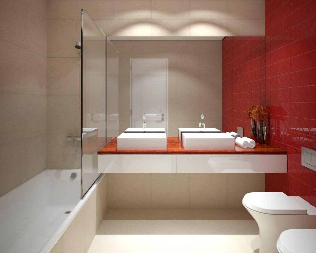 Batroom Red option