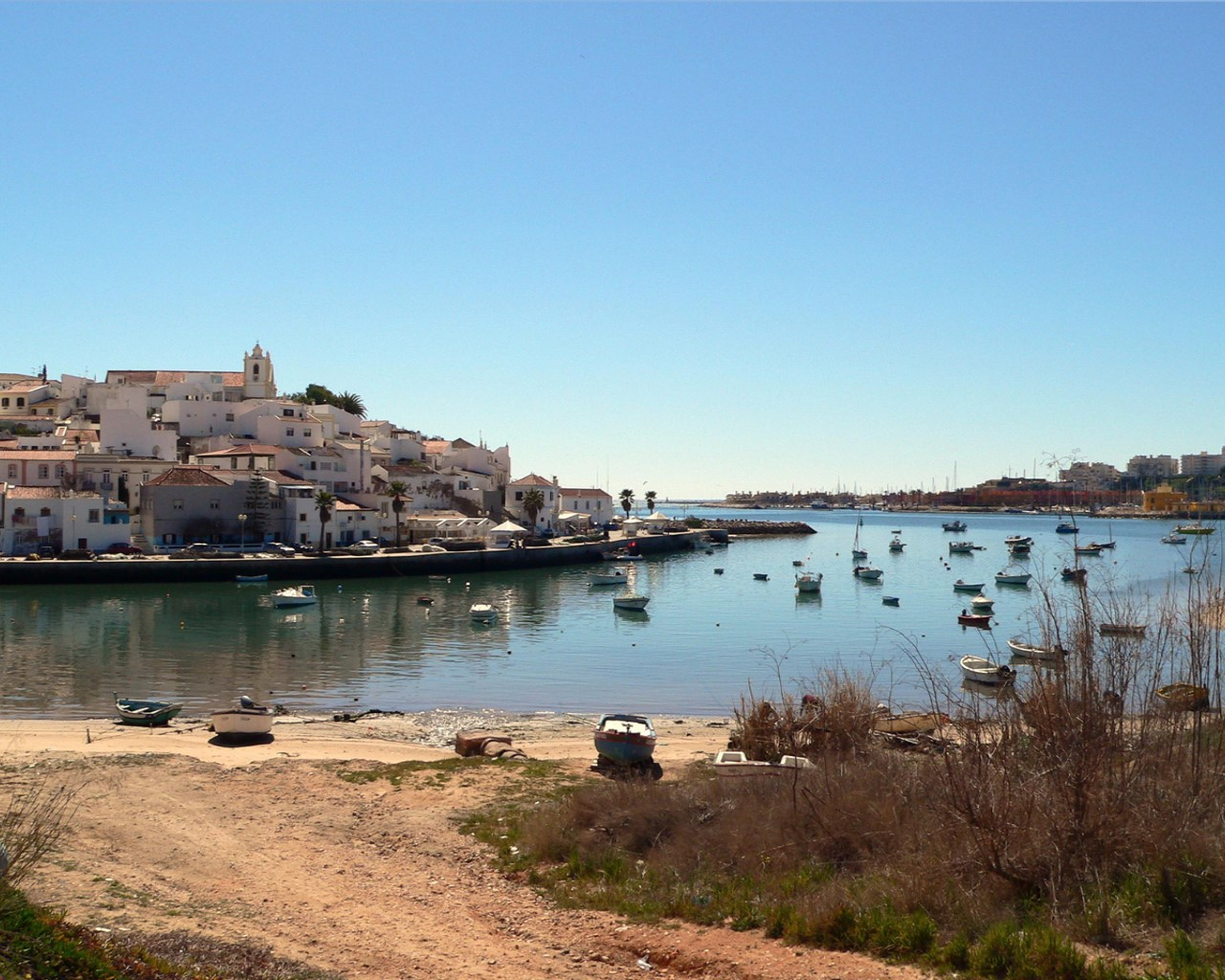 Nice and typical Ferragudo City