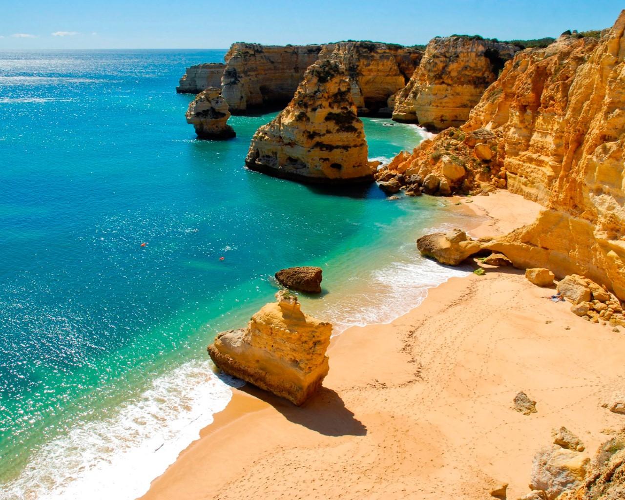 Ferragudo's beach