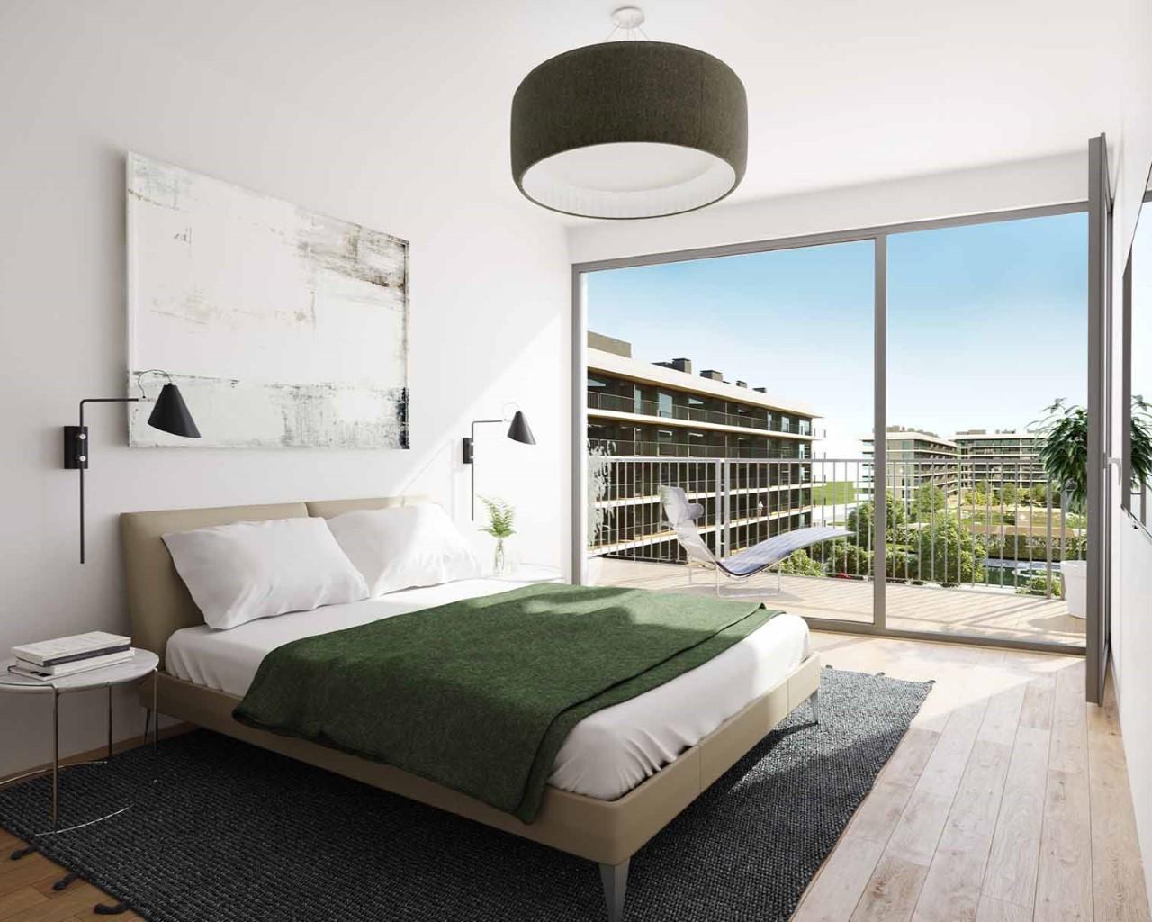 Lux Garden - Chambre - option chêne