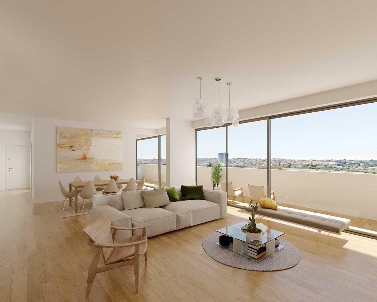 Lux Garden-pièce à vivre - option Chêne