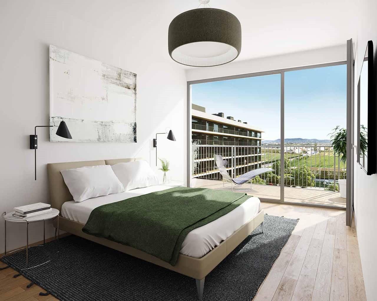 Lux Garden - Chambre-option-chêne