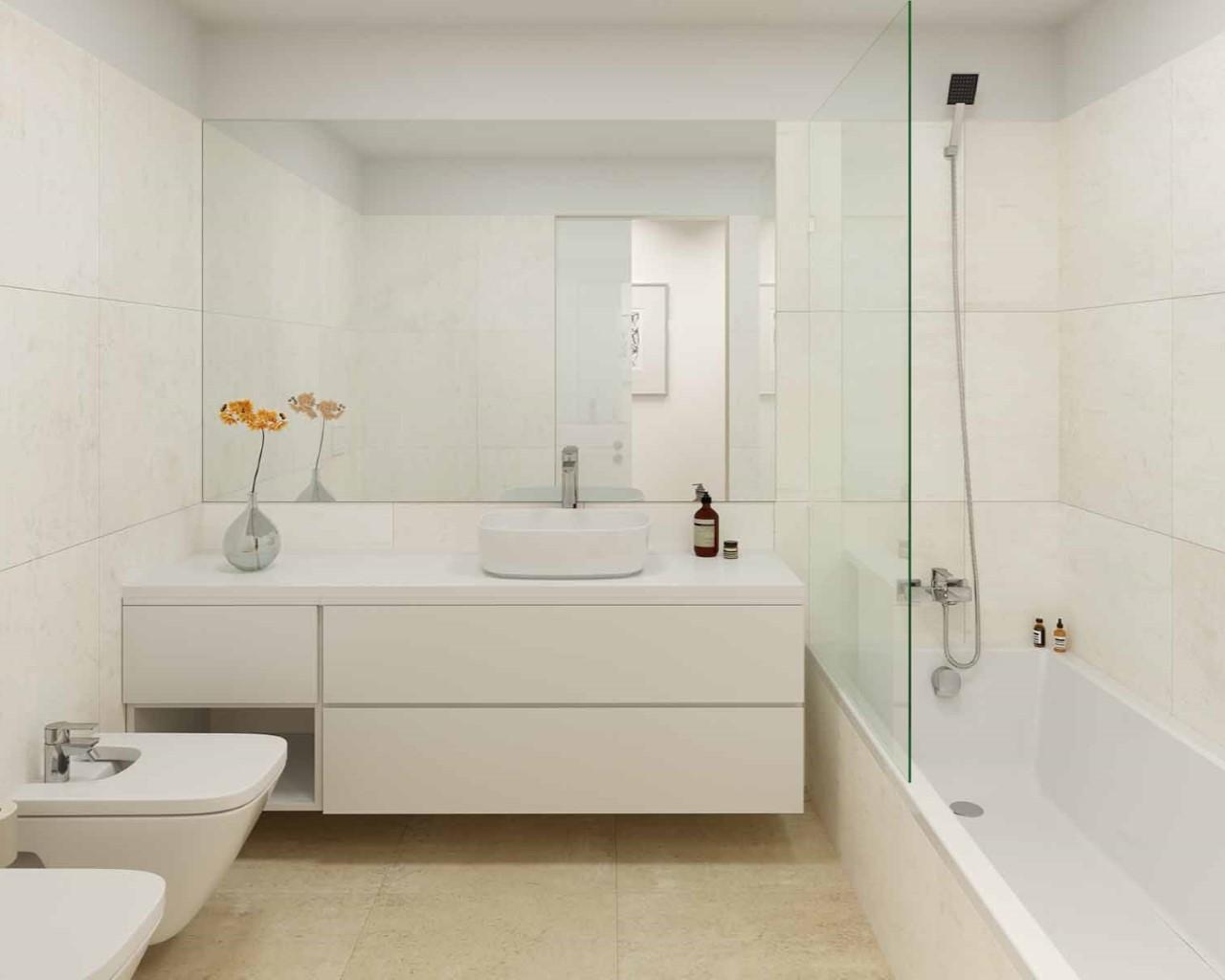 Lux Garden - Salle de bain - option plage