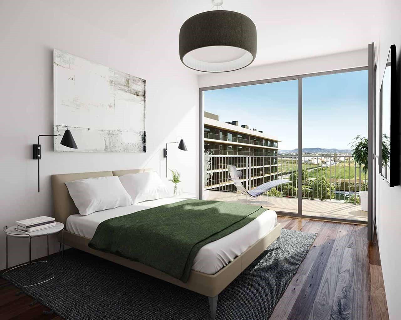 Lux Garden-chambre-option-noyer