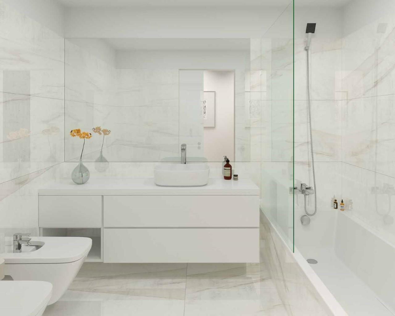 Lux Garden - Salle de bain - option ville