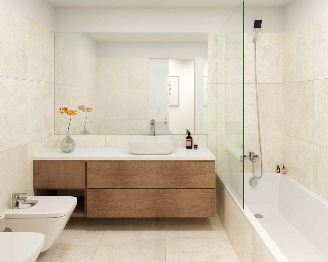 Lux Garden - Salle de bain - option montagne
