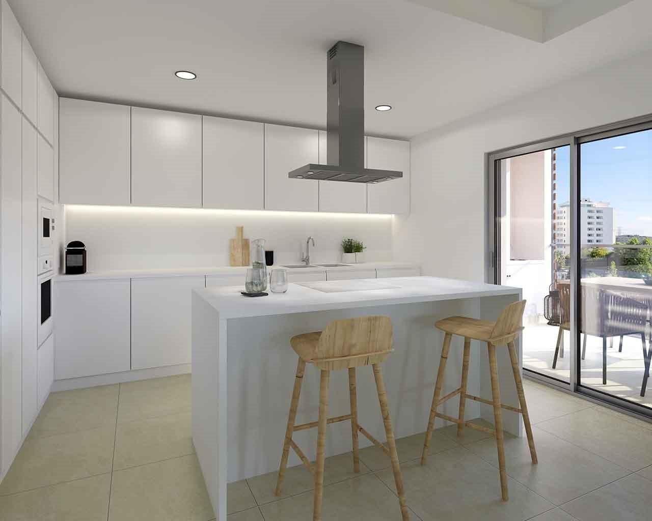 Albufeira-Green-Residences-Sala T4 03