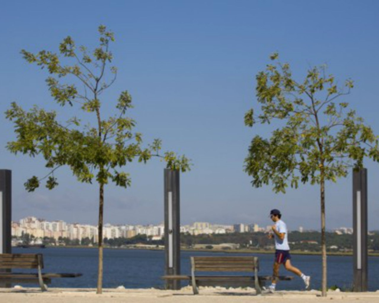 Promenade aménagée Seixal