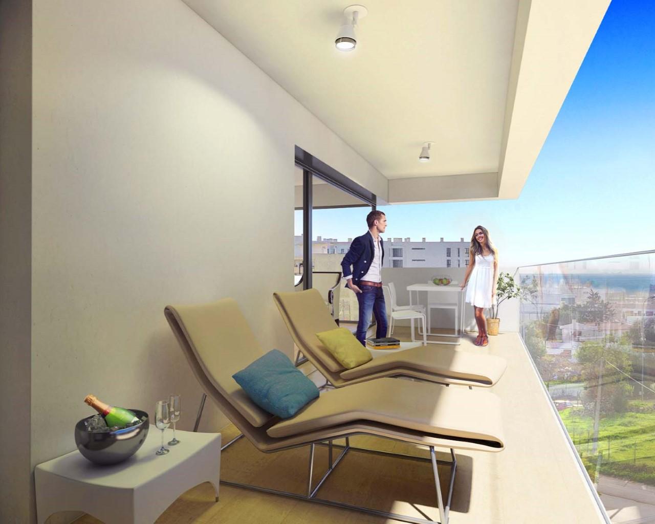 terrasses vues jardin d'oliviers