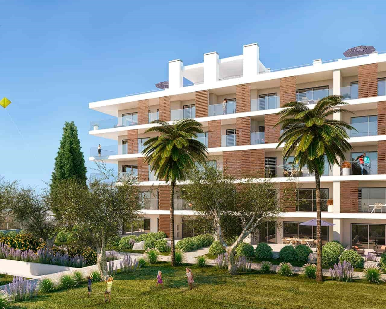 Albufeira Green Apartments_Garden