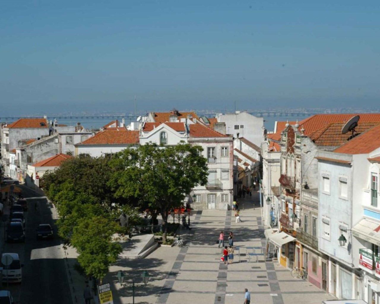 Alcochete city center