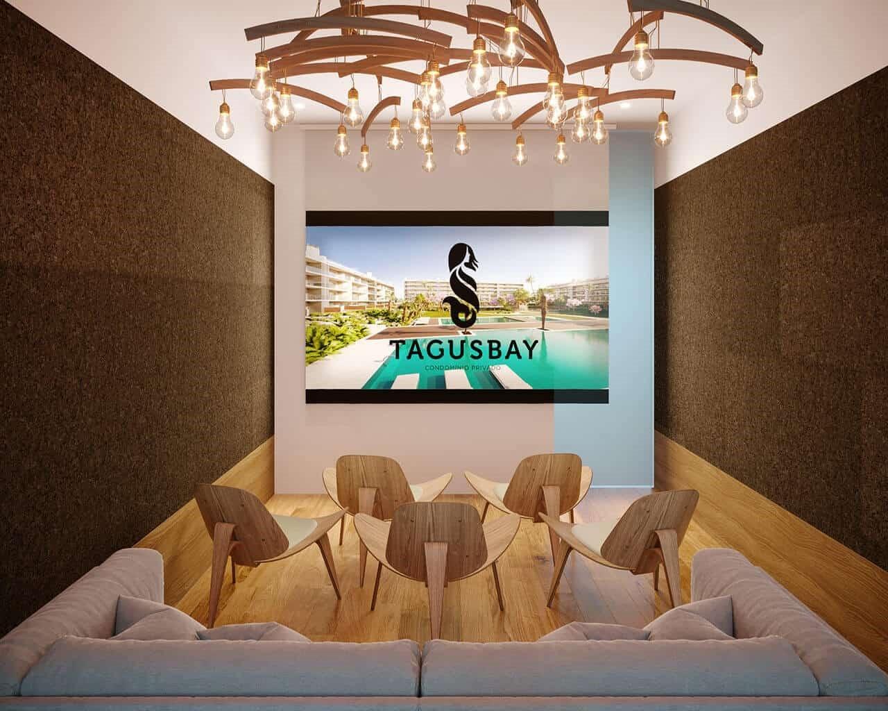 Tagus Bay - media room