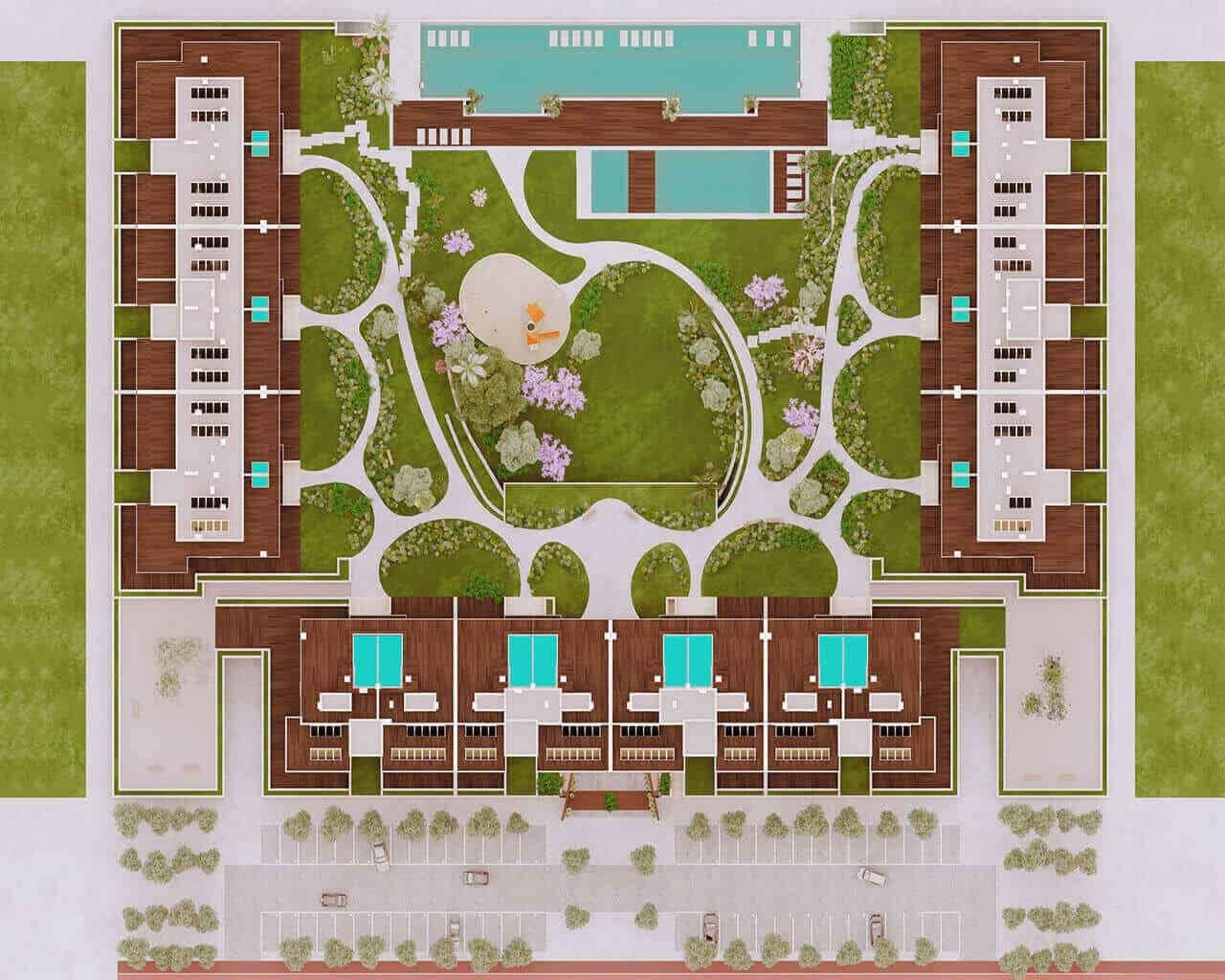 Tagus Bay - 2D plan