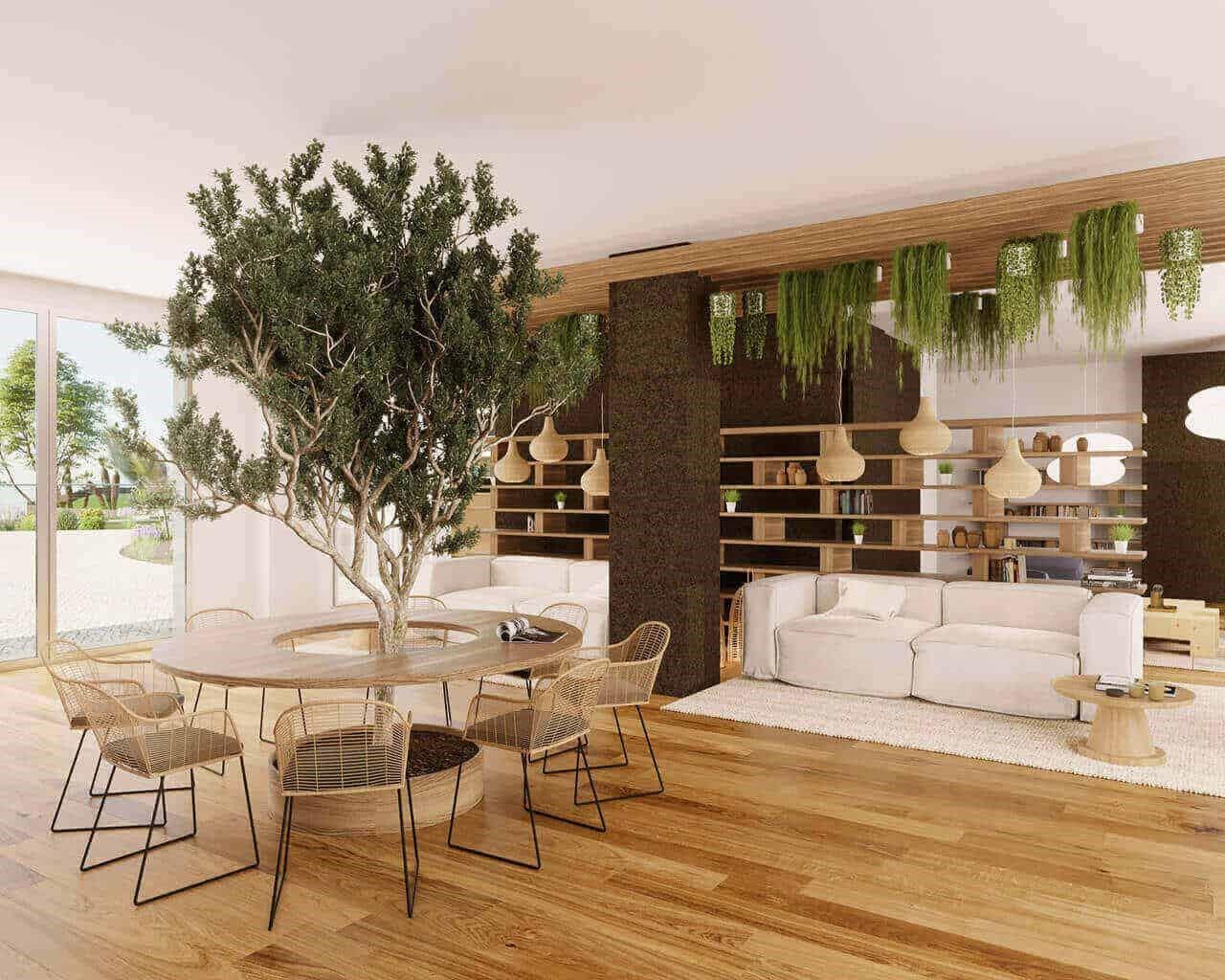 Tagus Bay - co-living espaço leitura