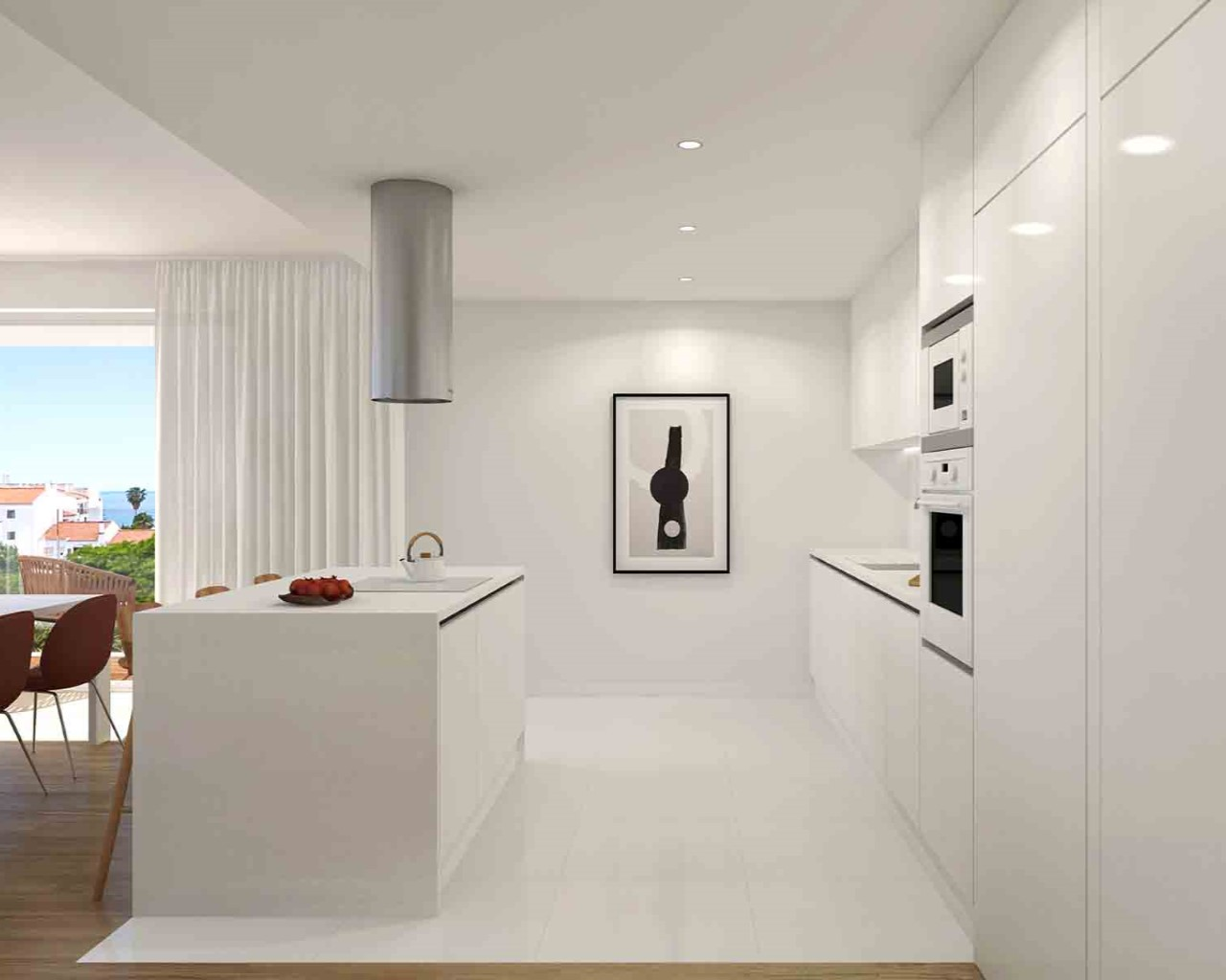Albufeira Prime - Kitchen - White oak