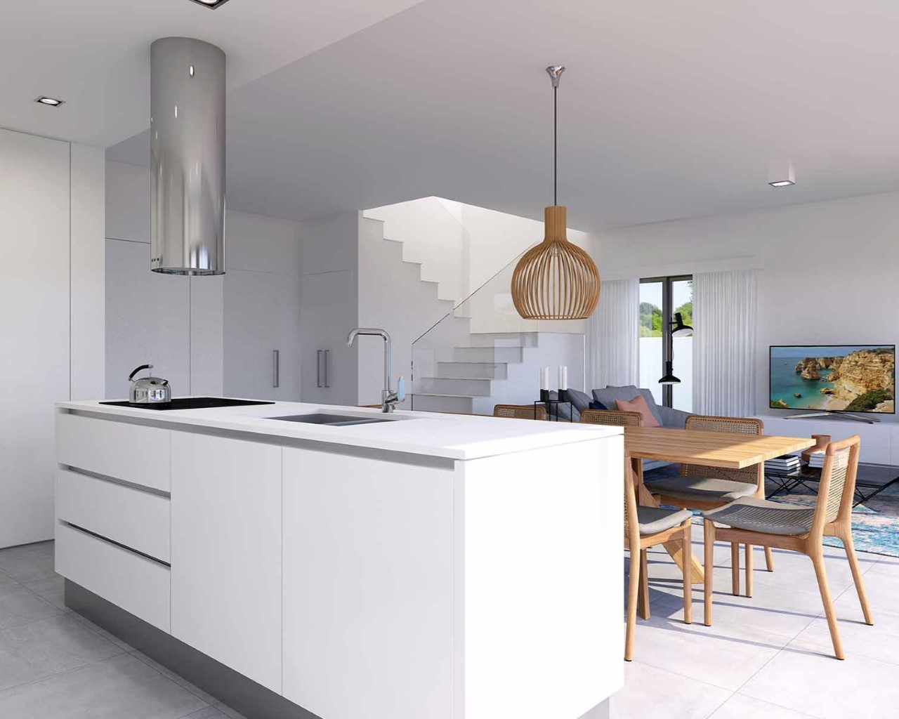 Ferragudo Design Villas - Kitchen